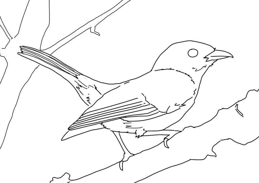Entry #25 by adraalhafid for Convert images to line drawings