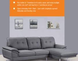 Nro 1 kilpailuun Design of a newspaper Advert for Furniture Business - 2 x 6 month contract käyttäjältä Tanvir473