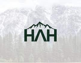Nro 3 kilpailuun Logo designed using H A H incorporated into mountains käyttäjältä Dezilancer