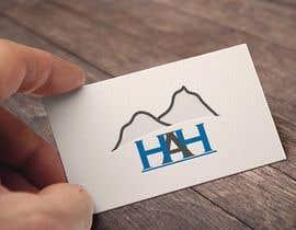 Nro 18 kilpailuun Logo designed using H A H incorporated into mountains käyttäjältä Graphbd