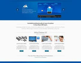 #56 untuk Wordpress Theme Design for Cloud-Phone Inc. oleh toybox29