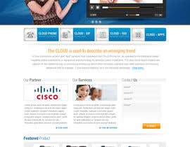 #64 para Wordpress Theme Design for Cloud-Phone Inc. por iNoesis