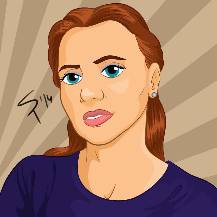 Bài tham dự cuộc thi #                                        39                                      cho                                         Portrait comic drawing from a picture