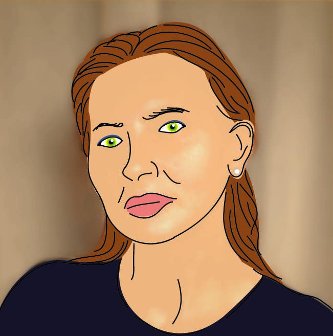 Bài tham dự cuộc thi #                                        47                                      cho                                         Portrait comic drawing from a picture