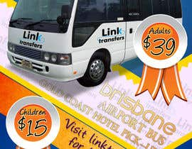 #45 untuk Flyer Design for Airport Transfer company (DL size) oleh multitasker2012