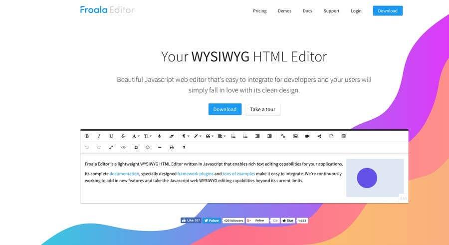 javascript text editor download