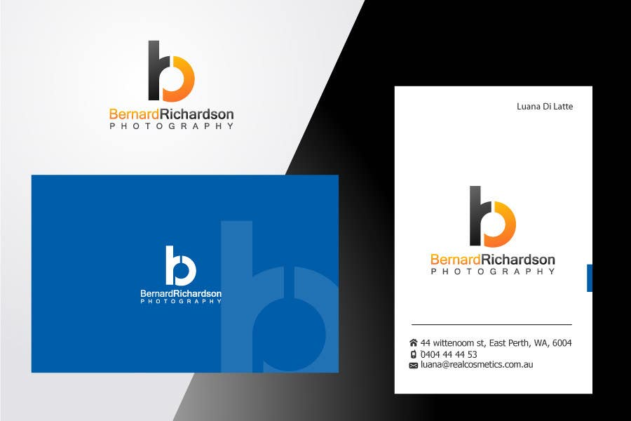 Proposition n°212 du concours Logo Design for Bernard Richardson Photography