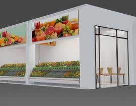#48 for Fresh Juice shop Design . 3D Modeling by issevin