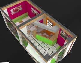 #25 for Fresh Juice shop Design . 3D Modeling by visibilizar