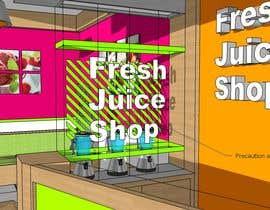 #40 for Fresh Juice shop Design . 3D Modeling by visibilizar