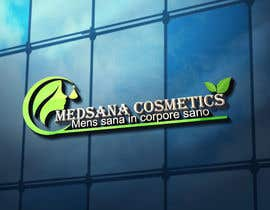 "#10 for logo for my business. Its about natural home-made cosmetics (cremes, soaps etc) witch are also terapeutical. The name is ""medsana cosmetics"". slogan is ""mens sana in corpore sano"" . Maybe a woman shape from the side holding something like a chamomile by GripichDesigner"