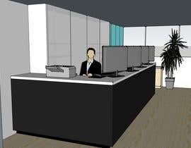 #1 para Spatial/Interior design for Showroom cum office space por me3u2