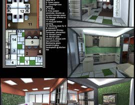 #2 untuk Spatial/Interior design for Showroom cum office space oleh lauraburlea