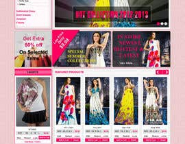 #43 for Website Design for Dresses Fashion Site by kosmografic