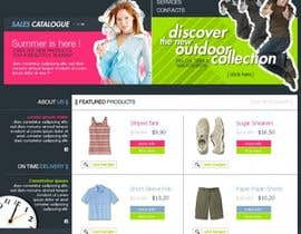 #37 untuk Website Design for Dresses Fashion Site oleh Acme1Asif