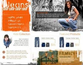 #38 untuk Website Design for Dresses Fashion Site oleh Acme1Asif