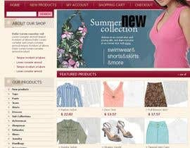 #39 untuk Website Design for Dresses Fashion Site oleh Acme1Asif