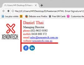 bayasine tarafından HTML Email Signature için no 9
