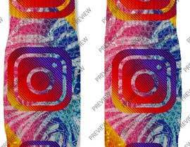 Nro 14 kilpailuun Silky Socks Design Contest - Instagram Sock Design käyttäjältä tflbr