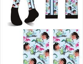 Nro 11 kilpailuun Silky Socks Design Contest - Instagram Sock Design käyttäjältä dulhanindi