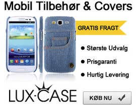 #82 untuk Banner Ad Design for Online shop selling mobile phone accessories oleh McFOX
