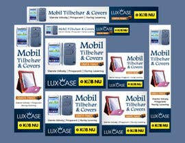 #55 untuk Banner Ad Design for Online shop selling mobile phone accessories oleh Qbrothers