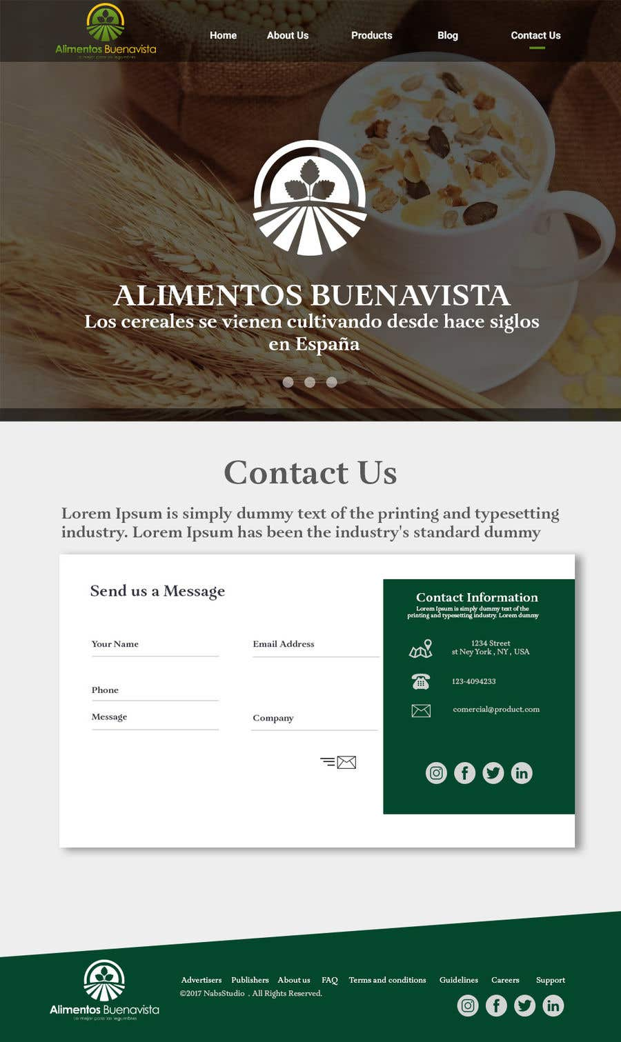 Entry 15 by nabeelshaikhh for logo webpage and business cards contest entry 15 for logo webpage and business cards design for an spanish agricultural reheart Image collections