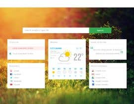 #11 cho We need PSD for single page (Chrome New Tab) bởi boushib