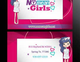 #7 for Design some Business Cards for No Mean Girls by indeevariperera