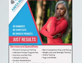 #59 cho design my personal training poster bởi Sarowar1812