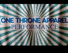 #21 for ONE Throne work out pants (logo) by Farhadshova