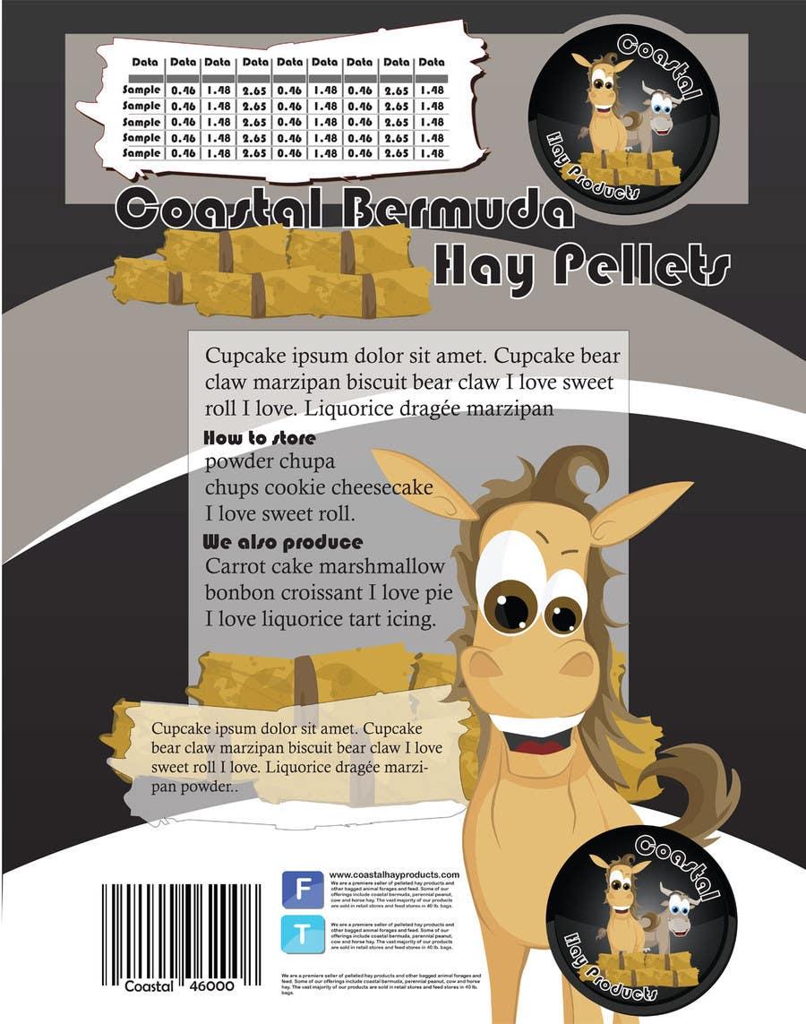 Конкурсная заявка №36 для Print & Packaging Design for Coastal Hay Products, Inc.