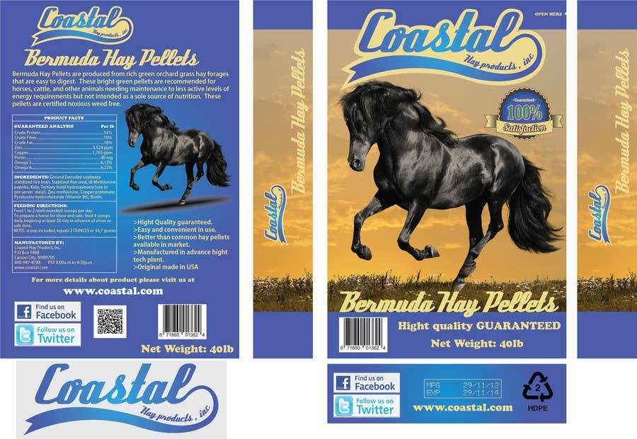 Bài tham dự cuộc thi #63 cho Print & Packaging Design for Coastal Hay Products, Inc.