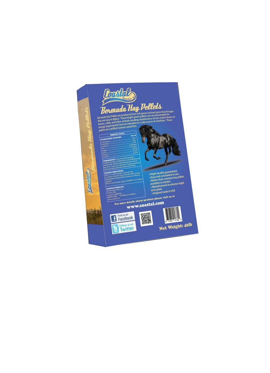 Inscrição nº                                         62                                      do Concurso para                                         Print & Packaging Design for Coastal Hay Products, Inc.