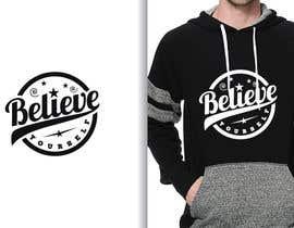 #39 untuk Graphic design slogan for hoodie/jumper oleh fourtunedesign