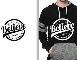 #59 untuk Graphic design slogan for hoodie/jumper oleh fourtunedesign