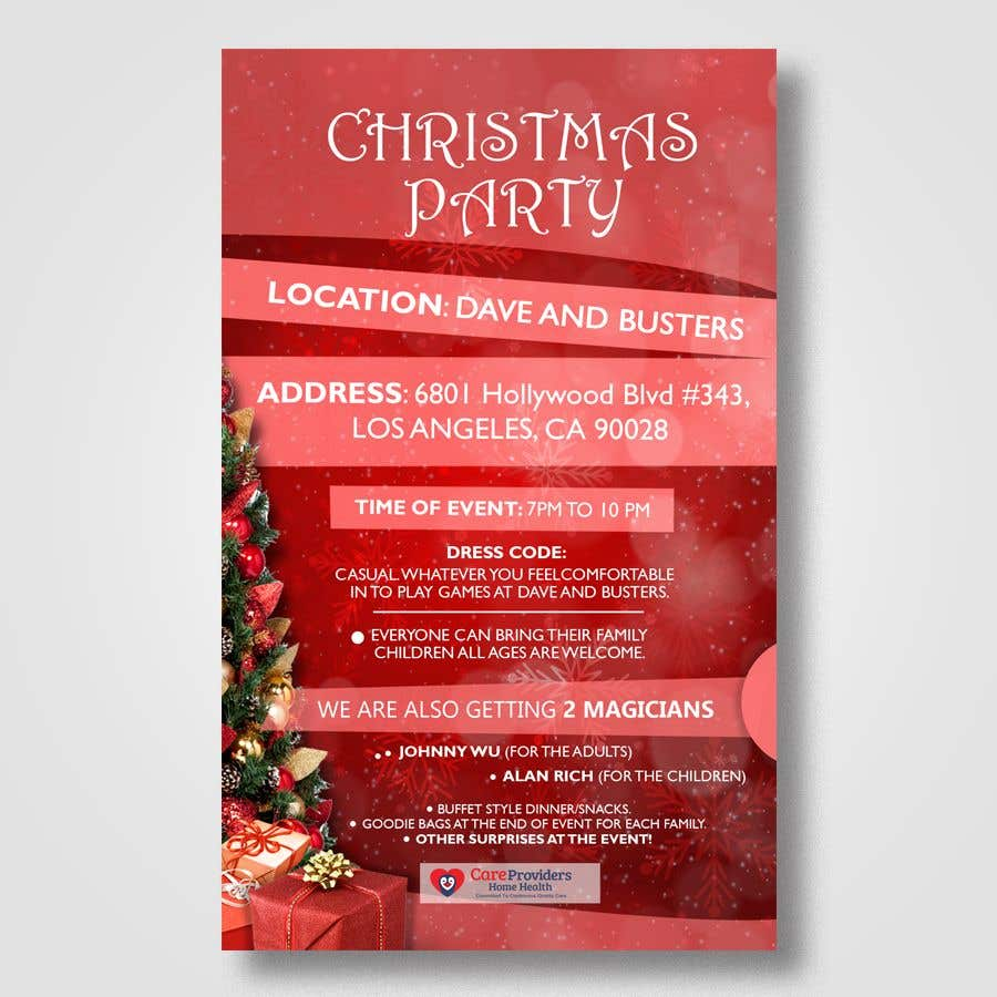 make a party flyer