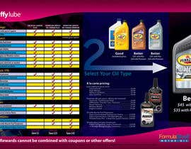 nº 25 pour Brochure Design for My Jiffy Lube par keiryusaki