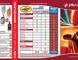 #14 para Brochure Design for My Jiffy Lube por csoxa