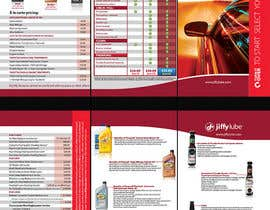 nº 26 pour Brochure Design for My Jiffy Lube par csoxa
