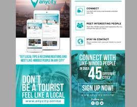 Nro 11 kilpailuun Design a Flyer for a travel startup käyttäjältä ephdesign13