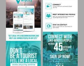 Nro 23 kilpailuun Design a Flyer for a travel startup käyttäjältä ephdesign13