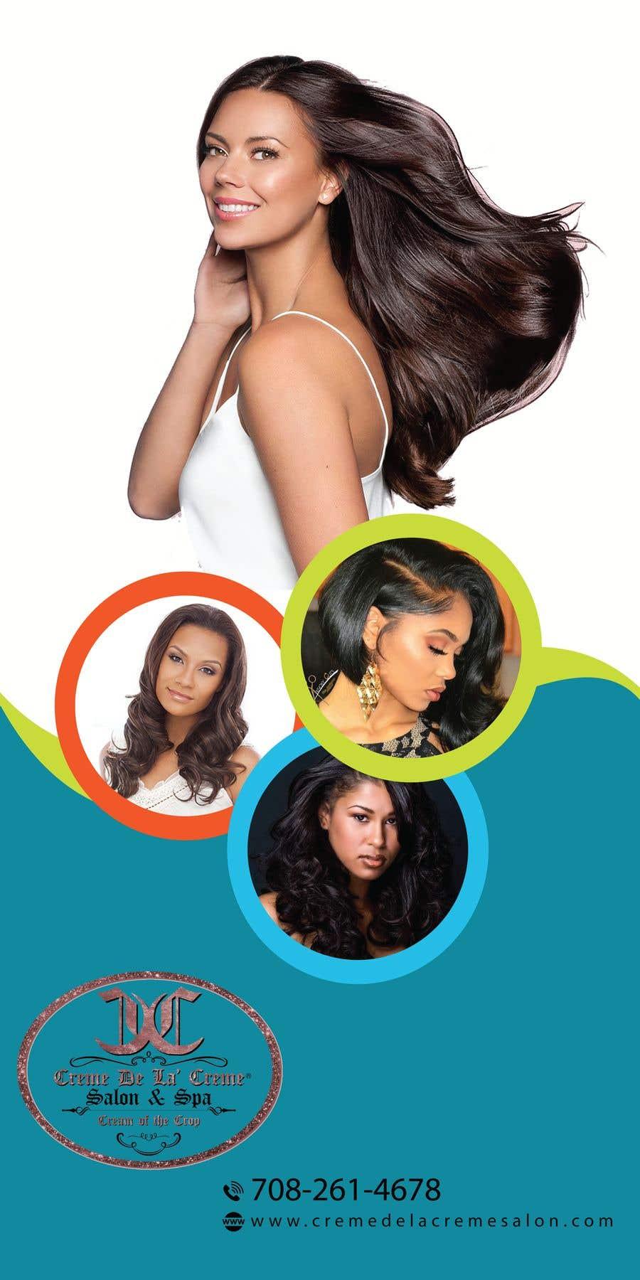 Entry 29 By Manik012 For Simple Design For Printed Banner For Hair Salon Freelancer