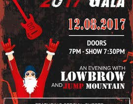#11 for Gig Poster for Christmas Rock Concert by rajchoudhary265