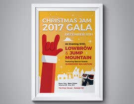 #8 for Gig Poster for Christmas Rock Concert by fedesoloa