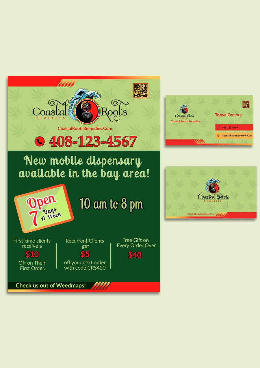 Entry #40 by sherinjahan62 for Design a flyer & business card ...