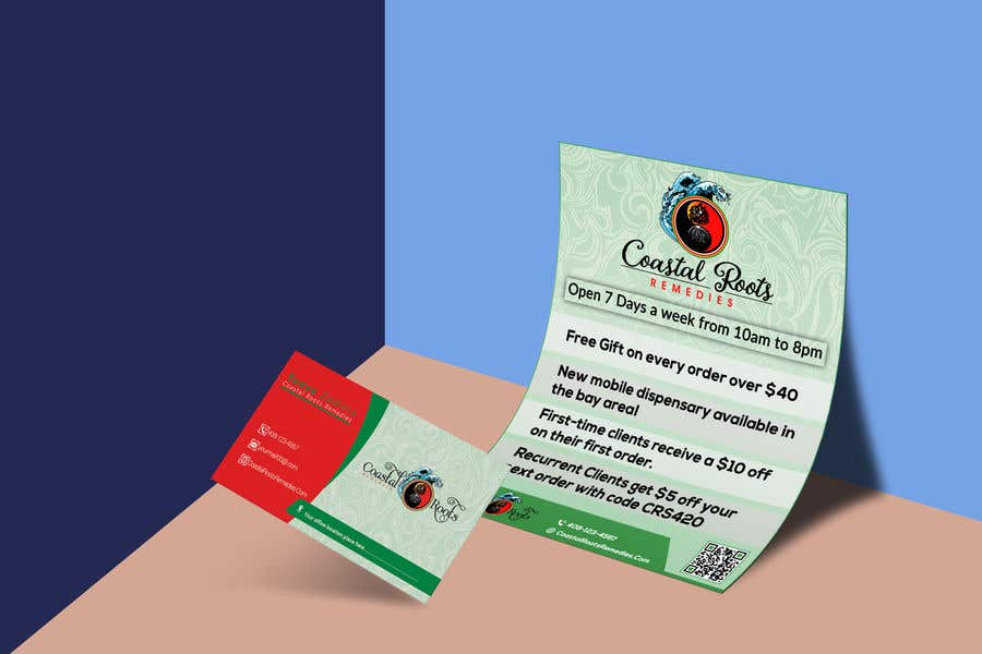 Entry #44 by baten1717 for Design a flyer & business card ...