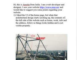 #4 for website optimization - Ideas / Suggestions / Critique / Design / layout by anushahiremath