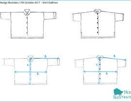 #2 for Create size guide drawings for my website by hannahedge