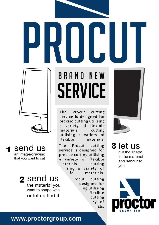 Конкурсная заявка №61 для Advertisement Design for A. Proctor Group Ltd